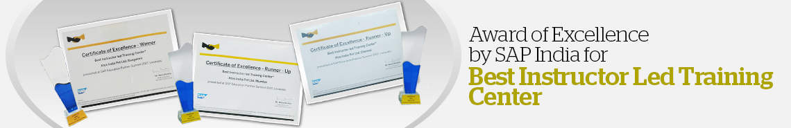 Atos - Best SAP ILT Training Awards by SAP