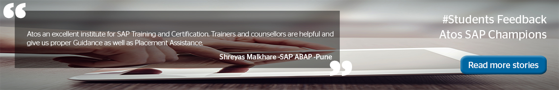 SAP Training & Education, SAP Certification Cost, SAP India